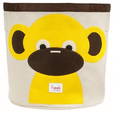 Kosz na Zabawki Małpka 3 Sprouts