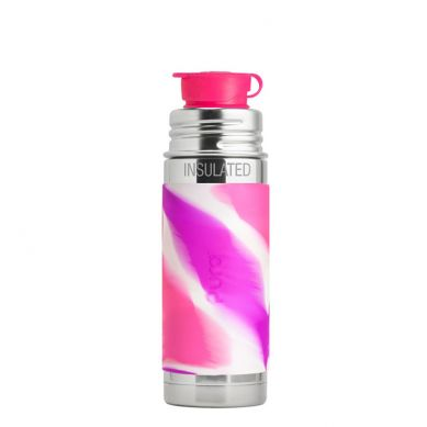 Pura - Termobutelka Pura Kiki Różowa Swirl 260 ml