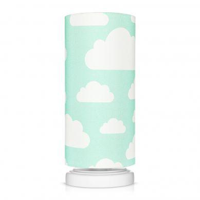 Lamps&co. - Lampka Nocna Chmurki Mint ze Ściemniaczem