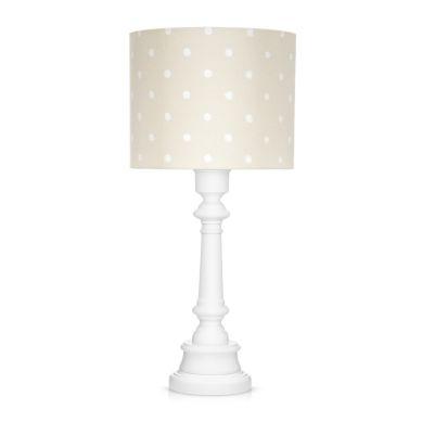 Lamps&co. - Lampa Stojąca Lovely Dots Beige ze Ściemniaczem
