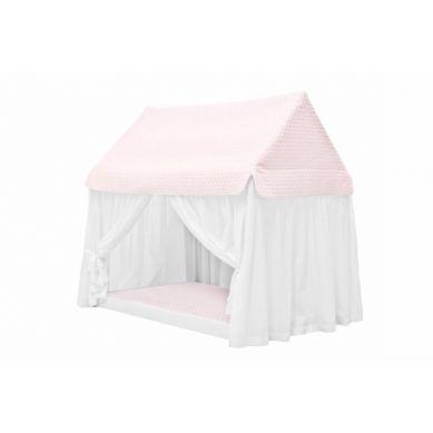 Caramella - Domek Dream Home Pudrowy z Materacykiem