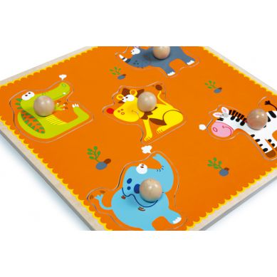 Scratch - Puzzle z Uchwytem Safari
