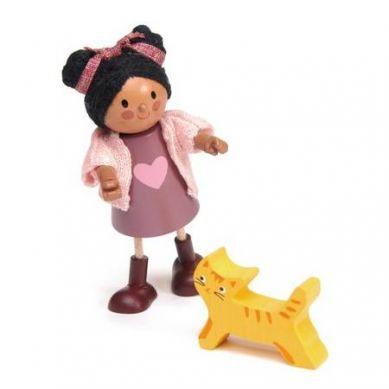 Tender Leaf Toys - Laleczka Ayana i Jej Kotek 3+