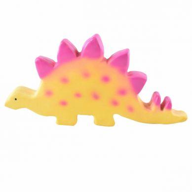 Tikiri- Zabawka Gryzak Dinozaur Baby Stegosaurus 0m+