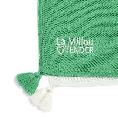La Millou - Dzianinowy Kocyk Honey Lollipop