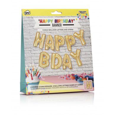 NPW ROW - Zestaw Balonów Foliowych Happy Birthday