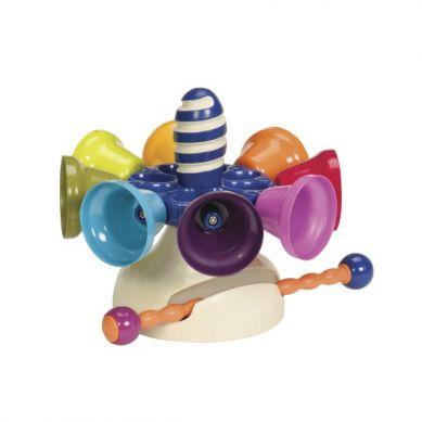 B. Toys - Olbrzymie Kolorowe Dzwonki - Cymbałki w Formie Karuzeli