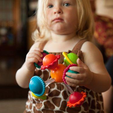 Fat Brain Toys - Grzechotka Wimzle Sensoryczna Przygoda