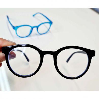 Elle Porte - Okulary z Filtrem Niebieskiego Światła Blue Light Black 3-12 lat