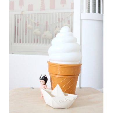 Petit Monkey - Lampka Ice Cream White