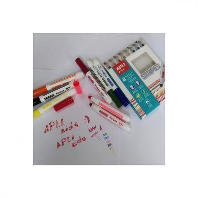 Apli Kids - Flamastry do Robienia Kresek 8 Kolorów