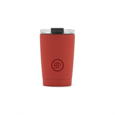 Cool Bottles - Kubek Termiczny 330 ml Triple cool Vivid Red