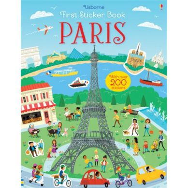 Wydawnictwo Usborne Publishing - First Sticker Book: Paris