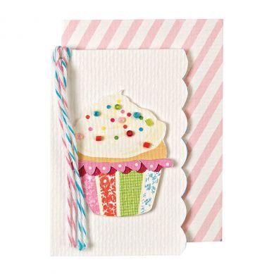 Meri Meri - Karnecik na Życzenia Cupcake