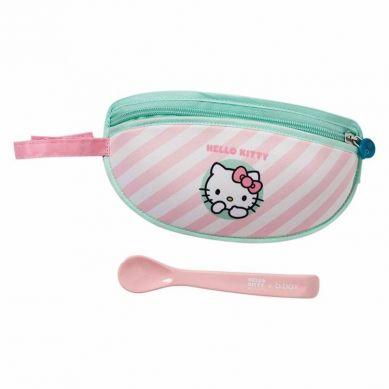 B. Box - Śliniak dla Niemowlaka w Saszetce Hello Kitty Candy Floss