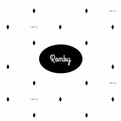 Lullalove - Poduszeczka dla Niemowląt Romby