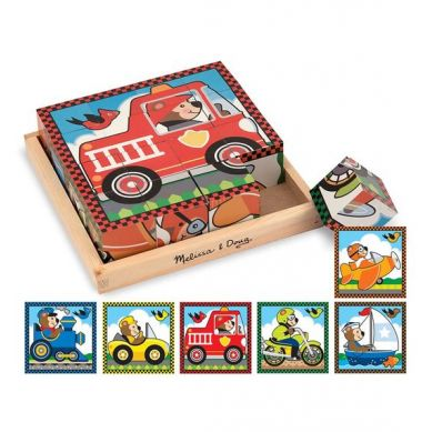 Melissa & Doug - Klocki Vehicles