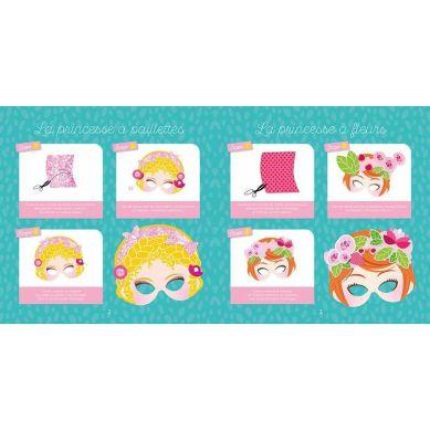Auzou - Maski DIY Księżniczki 5+