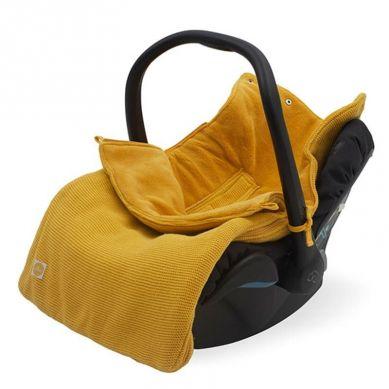 Jollein - Śpiworek Oddychający do Wózka i Fotelika Basic Knit Ocher