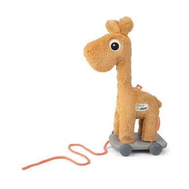 Done by Deer - Żyrafa do Ciągnięcia Raffi Mustard
