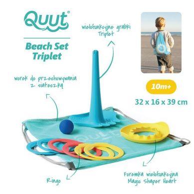 Quut - Set Plażowy Triplet + Ringo + Magic Sharpers Sun w Worku