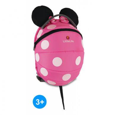 LittleLife - Plecak Disney Myszka Minnie Pink 1-3 lat