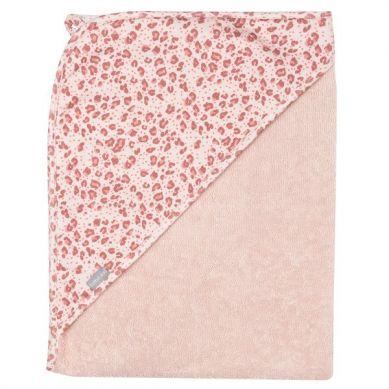 Bebe-Jou -  Ręcznik z Kapturkiem Leopard Pink 85x75cm