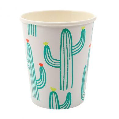Meri Meri - Zestaw Kubeczków Urodzinowych Cactus Cups