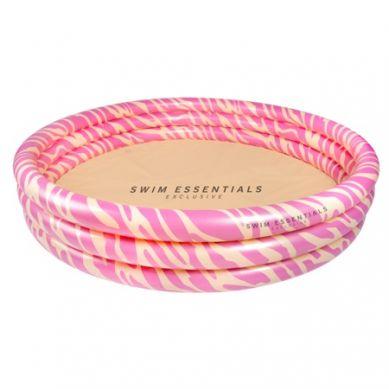 The Swim Essentials - Basen Kąpielowy Pastelowa Zebra 150cm
