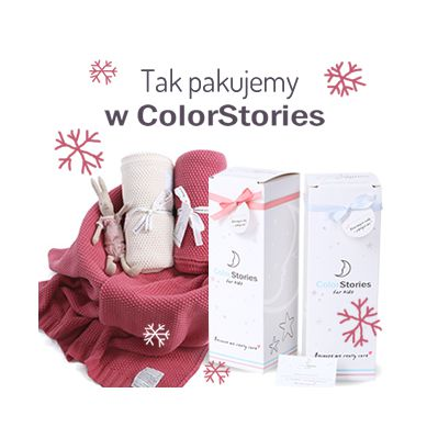ColorStories - Tkany Kocyk Cotton Classic Lawendowy