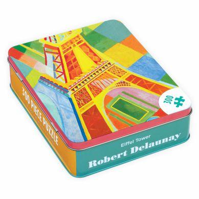 Mudpuppy - Puzzle w Pudełku 300 Elementów Wieża Eiffla