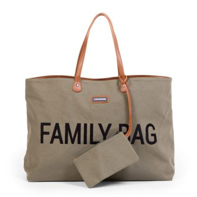 Childhome - Torba Family Bag Kanwas Khaki