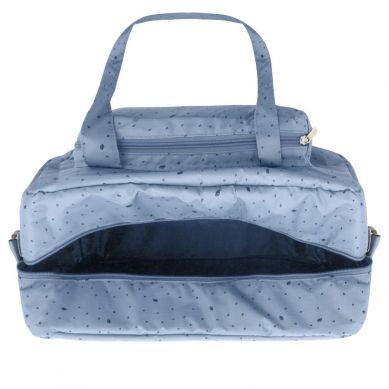 My Bag's - Torba Maternity Bag Leaf Blue