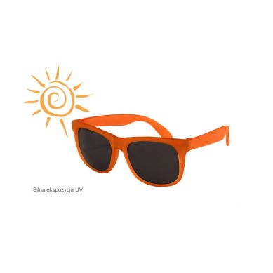 Real Kids - Okularki dla Dzieci Switch Yellow Orange 4+