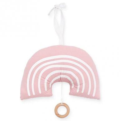 Jollein - Pozytywka do Usypiania Rainbow Blush Pink