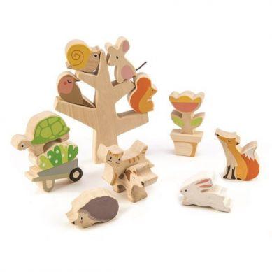 Tender Leaf Toys - Drewniana Gra Zręcznościowa Przyjaciele Ogrodu 18m+