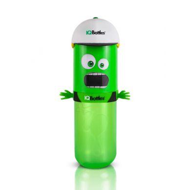 IQBottles - Bidon Butelka 2w1 Green/White Cap