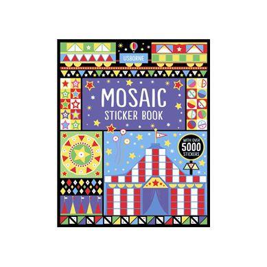 Wydawnictwo Usborne Publishing - Mosaic Sticker Book