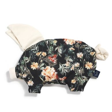 La Millou - Podusia do Wózka Sleepy Pig Velvet Collection Blooming Boutique Noir Rafaello