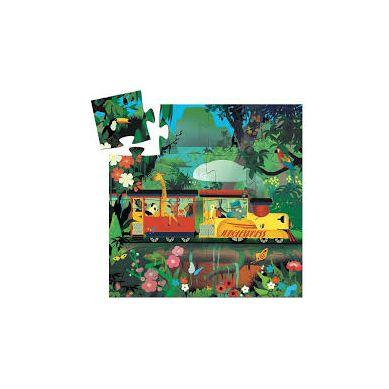 Djeco - Puzzle Lokomotywa 16el.