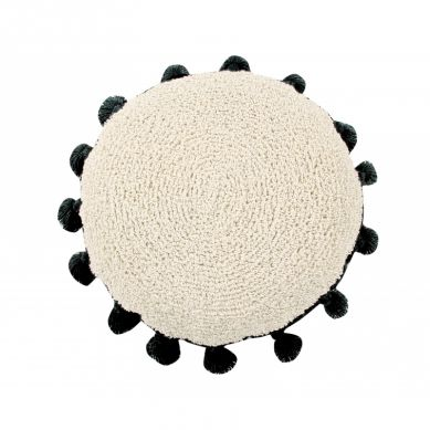 Lorena Canals - Poduszka do Prania w Pralce Cushion Circle Black