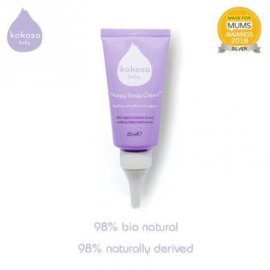 Kokoso Baby - Happy Scalp Cream Krem na Ciemieniuchę dla Niemowląt