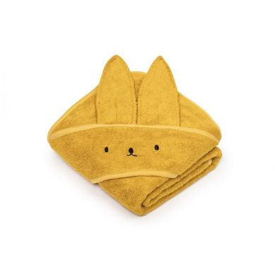 My Memi - Bambusowy ręcznik mustard - rabbit