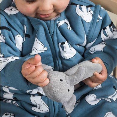 Jollein - Grzechotka Miękka Elephant Grey