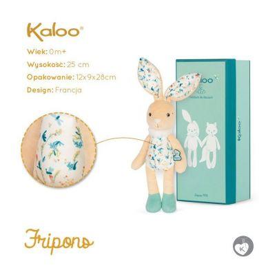 Kaloo - Przytulanka Zajączek Justin 25 cm w Pudełku Kolekcja Fripons