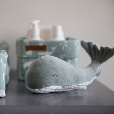 Little Dutch - Przytulanka Wieloryb Ocean Mięta 25cm 0m+