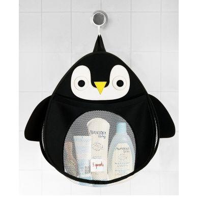 3 Sprouts - Organizer Kąpielowy Pingwin