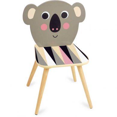 Vilac - Krzesełko Drewniane dla Dzieci Koala