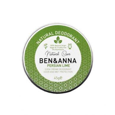 Ben and Anna - Naturalny Dezodorant w Kremie Persian Lime Aluminiowa Puszka