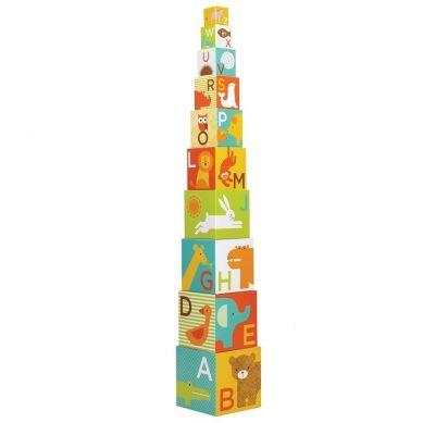 Petit Collage - Kostki do Układania ABC